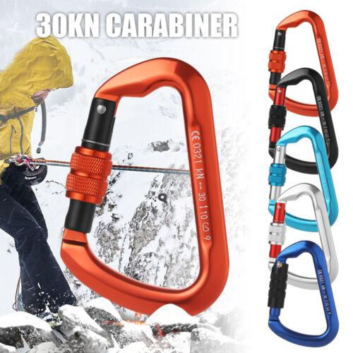 Climbing Buckle Security Safety Locks Quickdraws Lock Climbing Carabiner