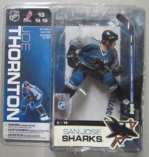 McFarlane NHL13 JOE THORNTON SAN JOSE SHARKS TEAL JERSEY NEW IN BOX