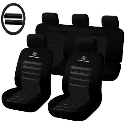 auto schonbezug komplettset sitzbez ge f r opel corsa scsc002006 ebay. Black Bedroom Furniture Sets. Home Design Ideas
