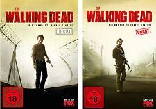 WVG  10 DVDs * THE WALKING DEAD - SEASON / STAFFEL 4 + 5 IM SET # NEU OVP