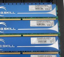 GSKILL 8GB (4 X 2GB) DDR2 PC2-6400 800Mhz NON-ECC DESKTOP MEMORY F2-6400CL5D-4GB