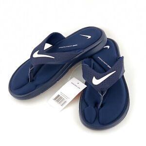 navy nike sandals