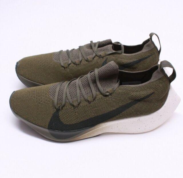 5841c9e40d8580 Nike Vapor Street Flyknit Medium Olive Sequoia Aq1763 201 - Sz 11.5  New nolid