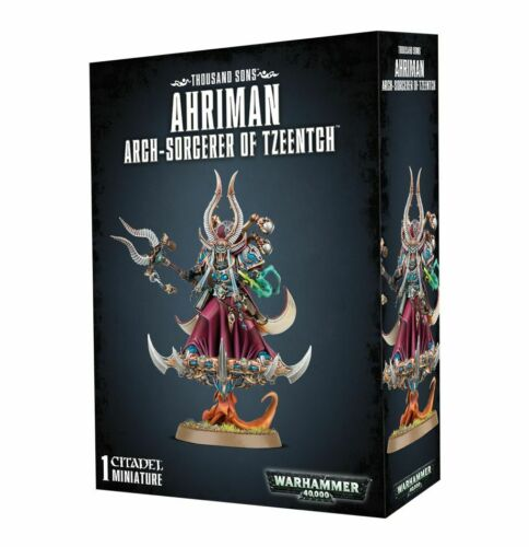 Warhammer 40K Thousand Sons Ahriman Arch-Sorcerer of Tzeentch 43-38