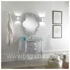 Mobile Bagno Bombato In Cristallo Stile Barocco Moderno Italy