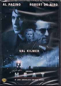 HEAT (DVD, 1999, ROBERT DENIRO) NEW