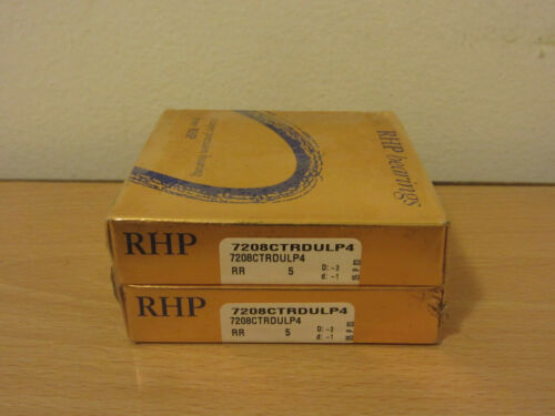 FAFNIR 2MM208WI DUL RHP 7208CTRDULP4 SUPER PRECISION BEARINGS