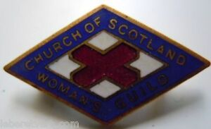 CHURCH-OF-SCOTLAND-WOMAN-039-S-GUILD-insigne-Ecosse-email