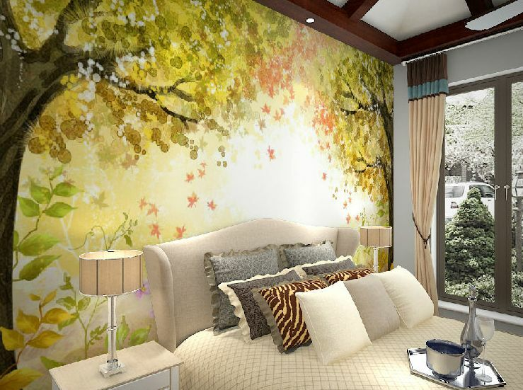 3D Tree Sketch painting 0407 Wall Paper Wall Print Decal Wall Deco AJ WALLPAPER