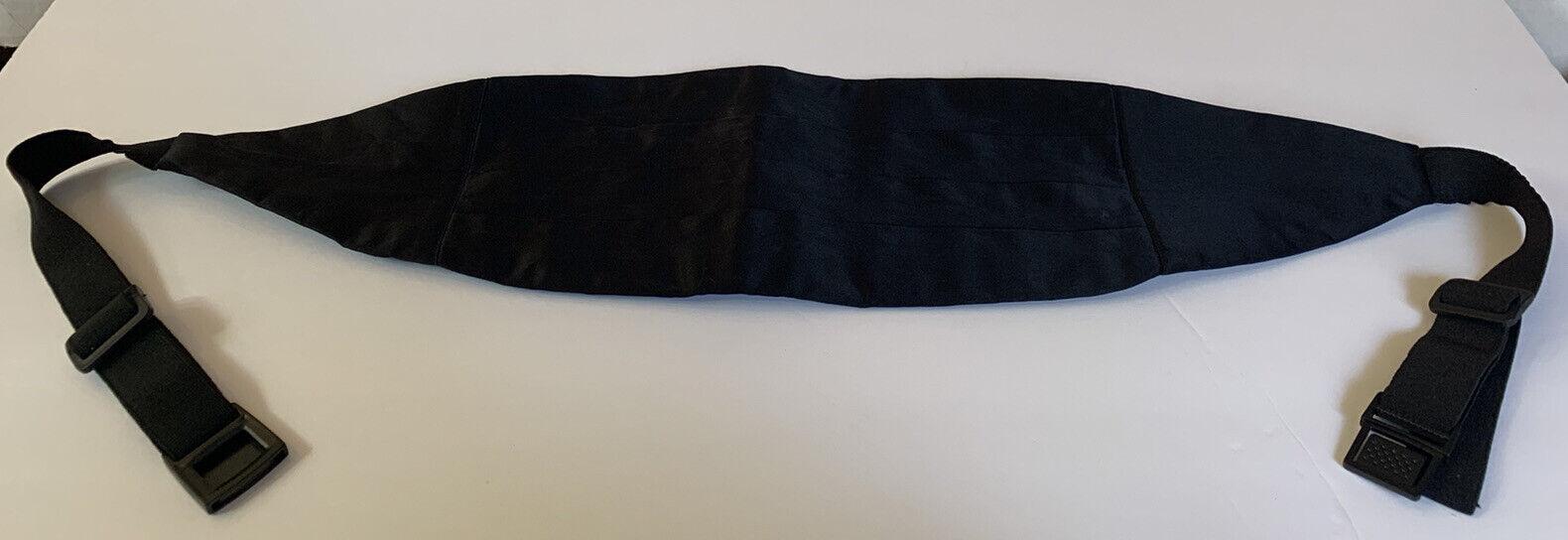 Tuxedo SASH Black 100% Silk
