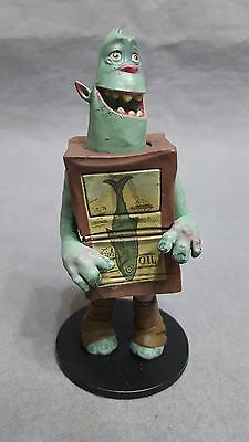 Rare Universal Picture The Boxtrolls Movie Promo Shoe Figure Promotional 3/""