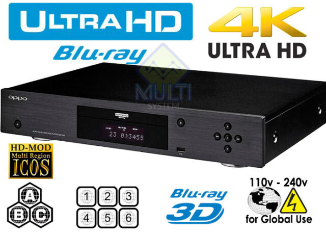 oppo udp 203 blu ray player g nstig kaufen ebay. Black Bedroom Furniture Sets. Home Design Ideas