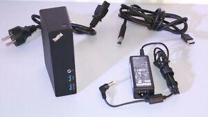 LENOVO-ThinkPad-Basic-USB-3-0-Dock-DL3700-ESS-Station-Accueil