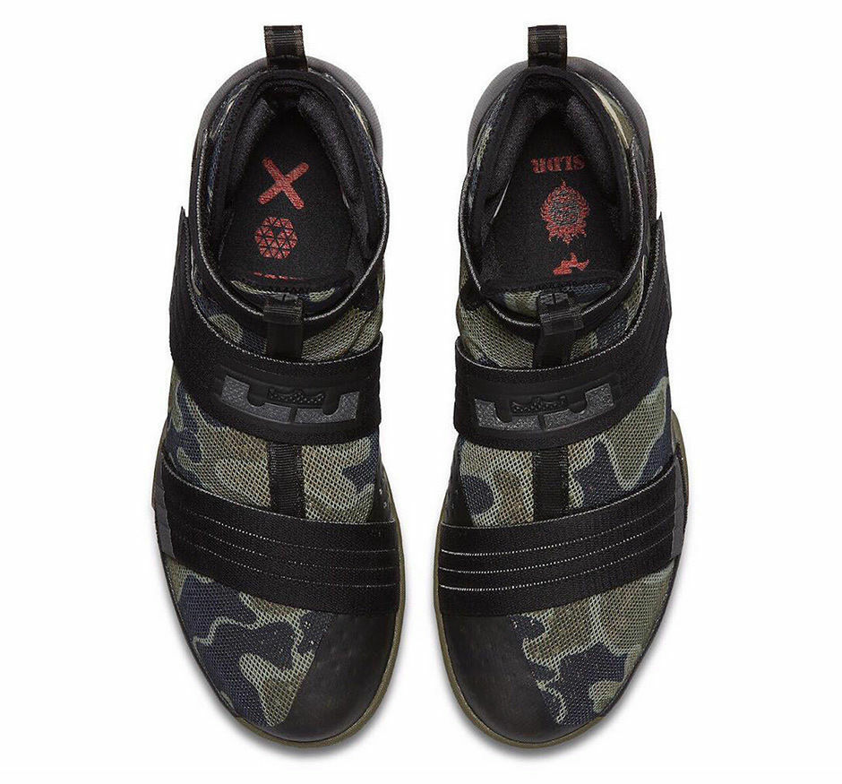 Nike Lebron Soldier SFG 10 X size 13.5. Black Olive Bamboo. 844378 002. New shoes for men and women, limited time discount