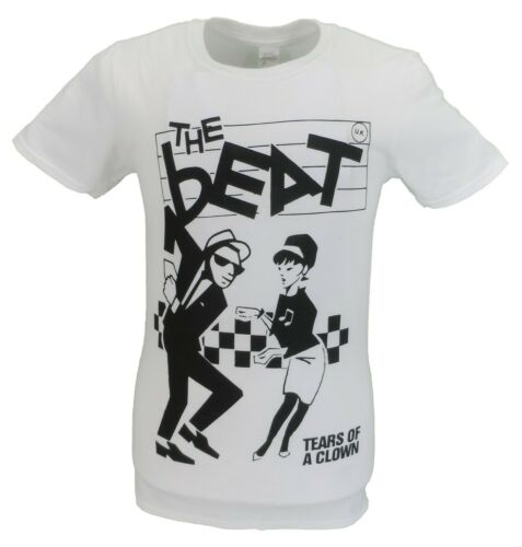 Blanc Homme Officiel The Beat Tears of a Clown T Shirt