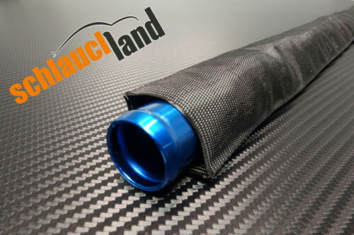 1m Nylon Gewebeschlauch ID 60mm *** Kabelschutz Schutz Schlauch Hitze Abrieb
