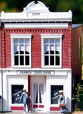 PIKO FARMERS STATE BANK G Scale Building Kit  62257 New in Box