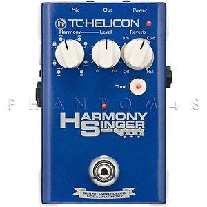 tc helicon harmony singer live vocal harmonizer multi effects pedal ebay. Black Bedroom Furniture Sets. Home Design Ideas