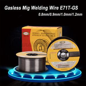 0-6-0-8-0-9-1-0-1-2MM-E71T-GS-R70S-6-ER50-Fil-de-Soudure-Fourre-a-Souder-Cable