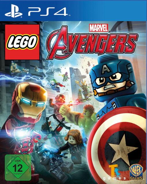 LEGO Marvel Avengers (Sony PlayStation 4, 2016, DVD-Box)