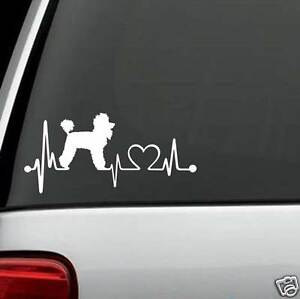 K1040-Poodle-Heartbeat-Dog-Decal-Sticker-for-Car-Truck-SUV-Van-Window-or-LAPTOP