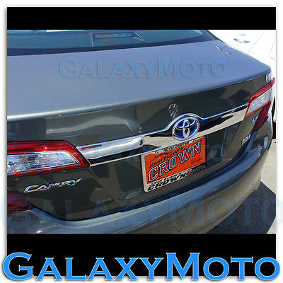 Chrome Tailgate Liftgate Handle Trunk Hatch Cover Accent for Toyota 07-10 Camry