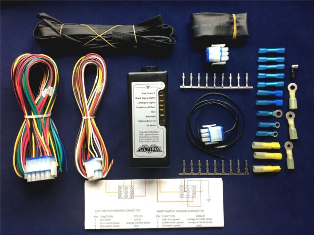 complete ultima led electronic wiring system harness kit harley evo rh ebay com custom harley carburetor ultima� complete electronic wiring harness system; harley and custom motorcycles