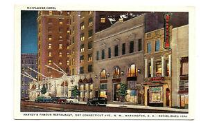 Vintage-1940s-Harveys-Restaurant-Washington-DC-Postcard-Connecticut-Ave