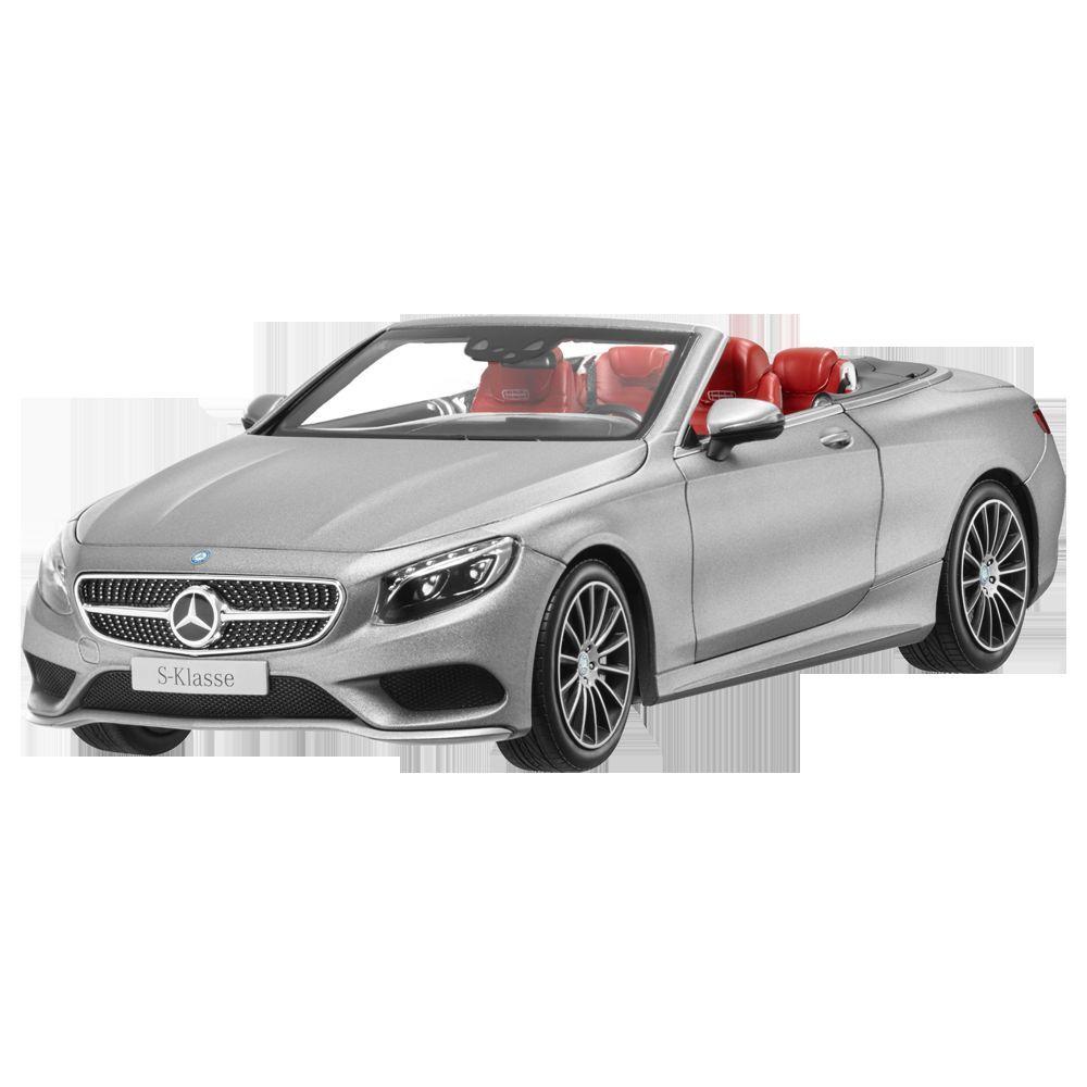 Mercedes - benz ein 217 grupo s cabrio amg linea designo allanitgrau 1,18 nuevo