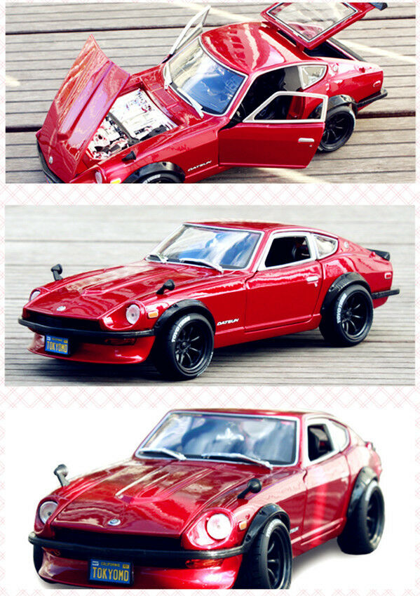 Meritorian Tunisan 1971 1 18 240Z simulation alloy modified car model ornaments