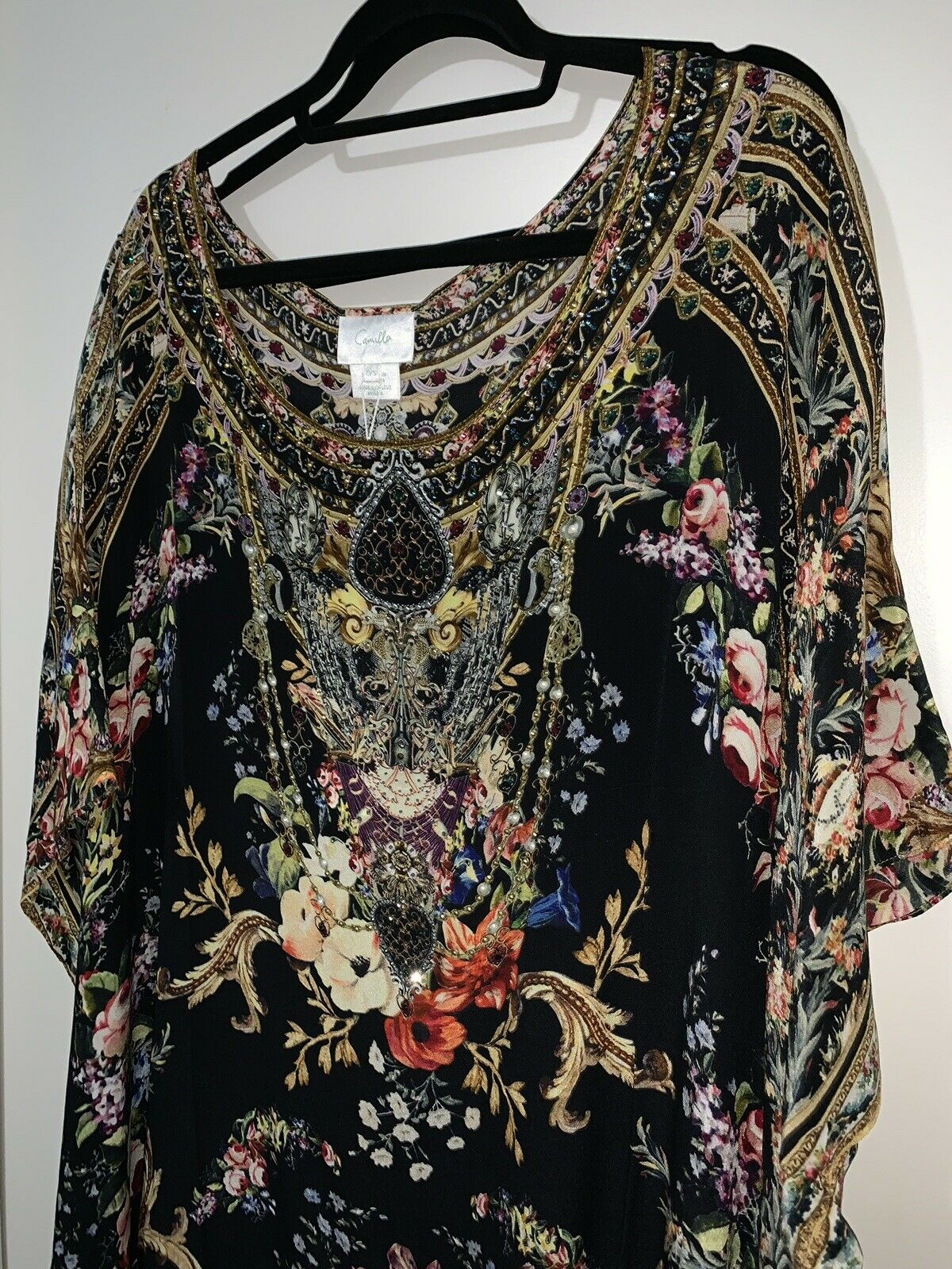 Camilla Friend In Flora Round Neck Kaftan BNWT