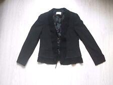 Veste noire Delmod taille 42 fr  black jacket