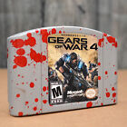 Nintendo 64 custom game Gears of War 4 GOW4 Splatter N64 Gift Novelty Display