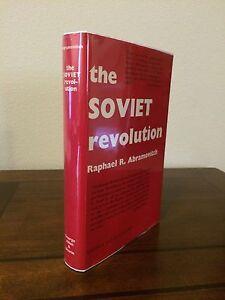 1962-1st-Edition-Print-034-THE-SOVIET-REVOLUTION-1917-1939-034-by-Raphael-Abramovitch
