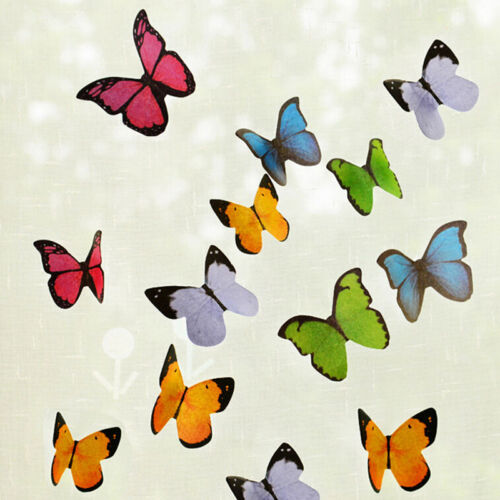 Transparent Sticker Butterfly Flag Bookmark Point Mark Sticky Note YL