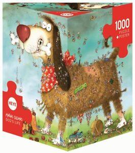 MARINO DEGANO - DOG'S LIFE - Heye Puzzle 29491 - 1000 Teile Pcs.