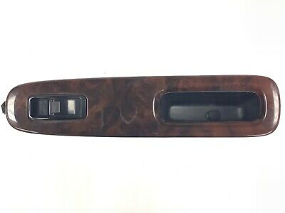 98-99 Accord 4Dr Right Front Power Window Switch Panel Bezel Garnish Trim Wood