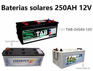 Batteries-solar-Monobloc-Acide-Plomo-85AH-125AH-250AH-Photovoltaique-Battery