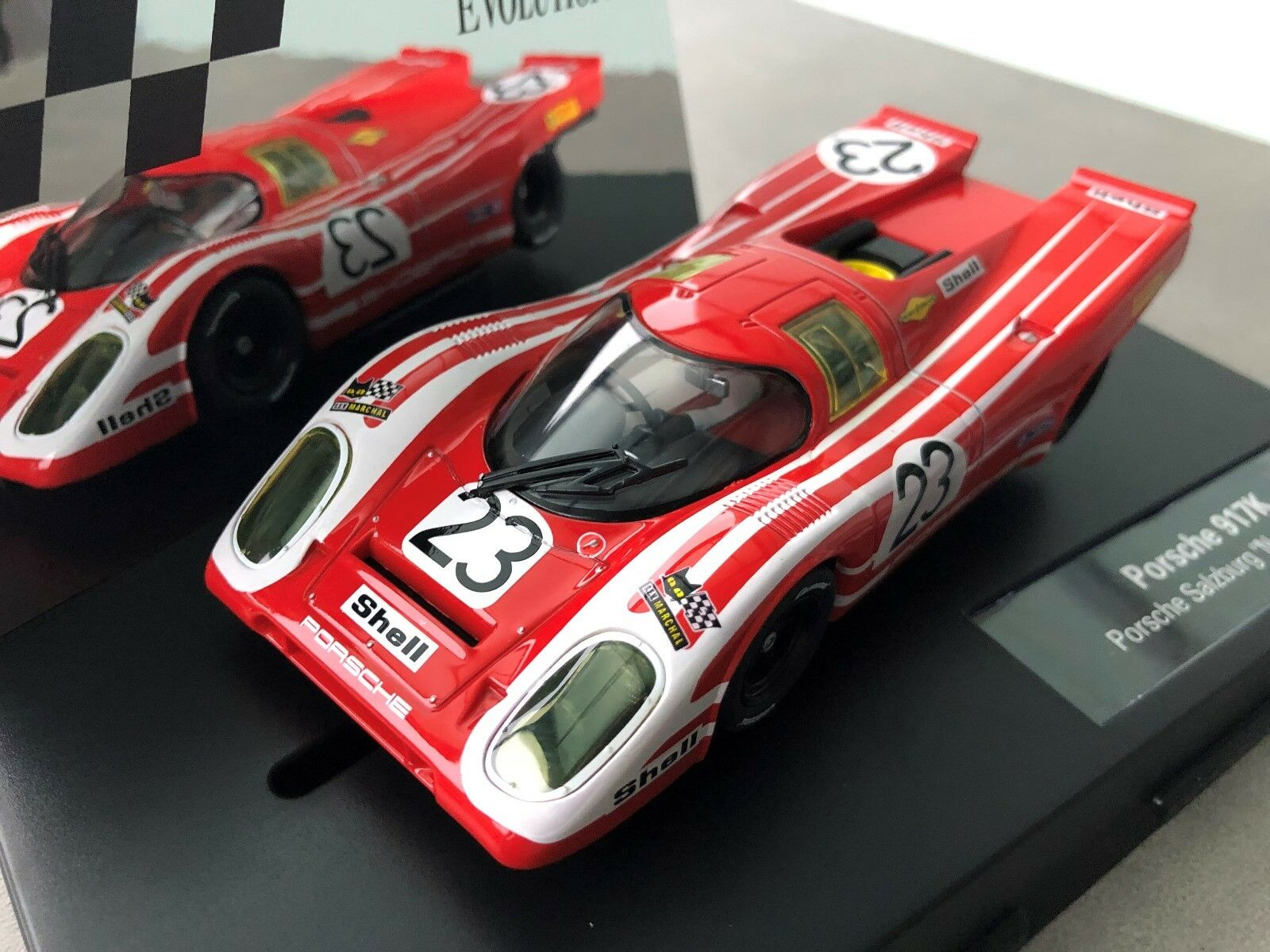 Carrera Evolution 27569 Porsche 917k Porsche Salzburg   No. 23  , 1970 Nip