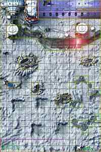 Heroclix Majestix Open Series Ice Planet neoprene map!