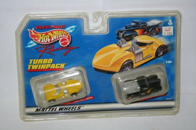 Hot Wheels Ho Scale Slot Cars Electric Racing Turbo Twinpack 40 Pickup Twin Mill
