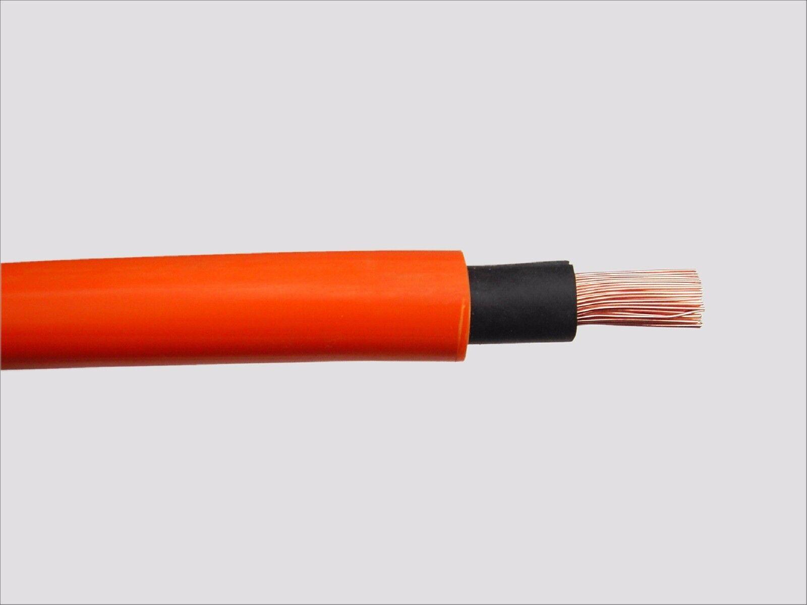 Schweißkabel ICEM DOUFLEX Orange 16mm² 25mm² 50mm² 70mm² - 2m 5m 10m 15m 20m | Am praktischsten