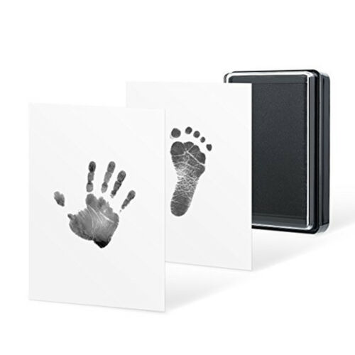 Baby Care Non-Toxic Baby Handprint Footprint Imprint Kit Fingerprint Clay T SL