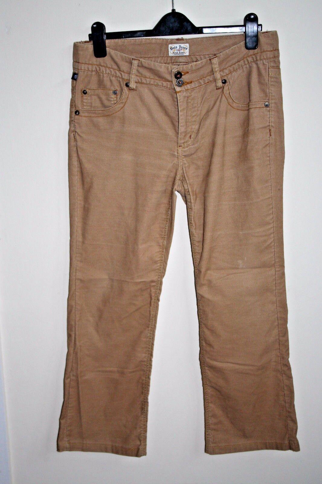 Ralph Lauren Polo Jeans Mens Denim Fashion Fashion Fashion Style Designer Größe 32W 28L Corduroy  | Um Zuerst Unter ähnlichen Produkten Rang  1d2c7f