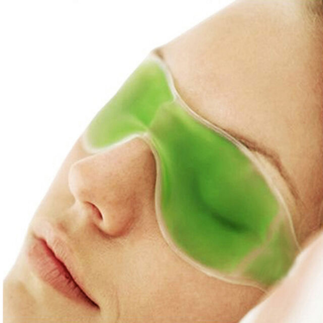 New Gel Eye Relaxing Mask Shade Cover Soothing Headache Puffiness Tension Stress