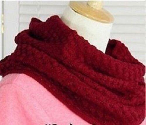New Bubble Corn Dot Knitting Wool Circle Scarf  Christmas Gift