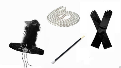 Great Gatsby 1920/'s Fancy Dress Accessories Buy one or more items BRAND NEW