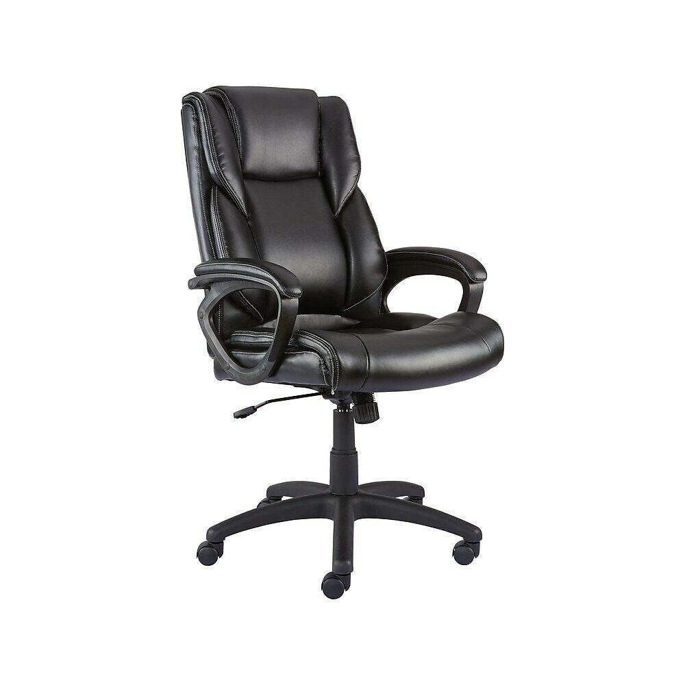 Staples Kelburne Luxura Office Chair Black 39