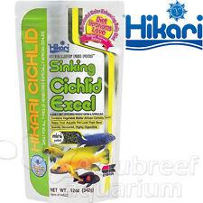 Hikari Cichlid Excel Sinking Mini Herbivore Fish Food Pellet 12oz