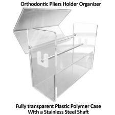 Dental Orthodontic Stainless Steel Pliers Scissors Stand Holder Rack Organizer